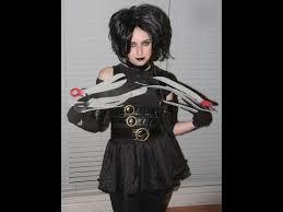 Edward Scissorhands Costume Ms Edward Scissor Hands Buycostumes Com Review Makeup Tutorial
