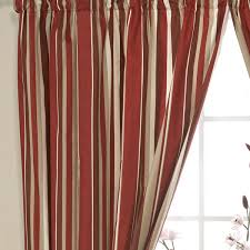Blue And Red Striped Curtains Curtains With Valance Ready Made Decorate The House With
