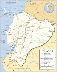 Map Of Countries In South America by Political Map Of Ecuador Nations Online Project