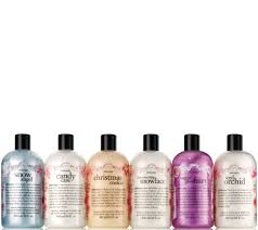 philosophy happy holidays shower gel 6 piece collection u2014 qvc com