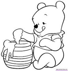 winnie pooh coloring pages bing images decorate