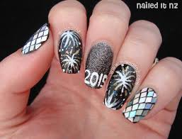 new years nail designs 2015 happy new year eve nail art