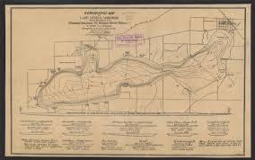 map of lake geneva wi hydrographic map of lake geneva wisconsin map or atlas