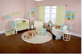 bedroom gorgeous pink baby nursery with pink wall paint color