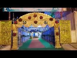 Marriage Decoration Raghavendra Marriage Decoration 1 New Youtube