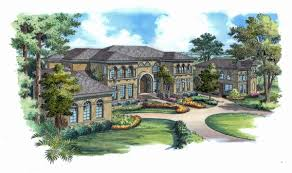 italian style home plans casa florencia 4936 6 bedrooms and 6 baths the house designers