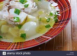 ukha russian home traditional fish soup stock photo royalty free