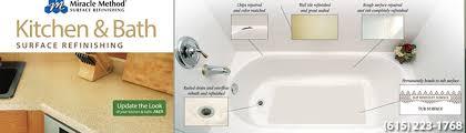 Miracle Method Bathtub Miracle Method Refinishing Nashville Tn Us 37204