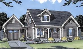 traditional country house plans plan 39094st single garage with breezeway breezeway detached