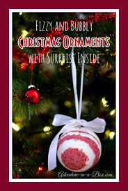 bath bomb christmas ornaments with surprise inside bath bomb