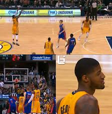 Paul George Memes - paul george shoots a jumper from almost half court