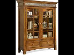 Bookcase With Glass Doors Glass Door Bookshelf Home Design Ideas