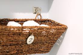 Wicker Space Saver Bathroom by Window Box Bathroom Storage Perfect For A Small Bathroom Our