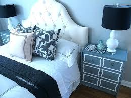 full size white tufted headboard gray velvet tufted headboard with