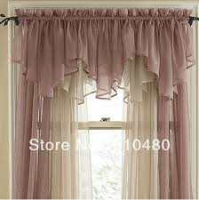 Sheer Curtains With Valance Rod Curtain Free Home Decor Techhungry Us