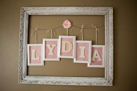Letter Decorations For Nursery Wall Designs Personalized Name Wall Letters Decorative