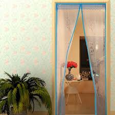 Magic Mesh Curtain 90x210cm Mosquito Curtain Printing Magic Mesh Screen Door Net