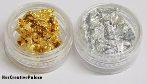 foil nail art decoration gold and silver review u2013 her creative