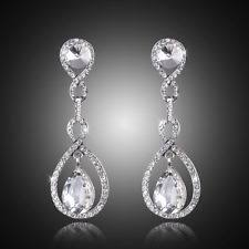 silver dangle earrings for prom prom earrings ebay
