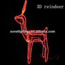 christmas decoration led light reindeer christmas decoration led