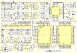 ds203 nano mini dso pocket size digital oscilloscope 4 channel