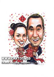 wedding gift singapore sg singapore caricature artists for gifts eventsan