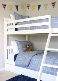 Boys Bunk Beds Boys Bunk Bed Room Sawdust 2 Stitches