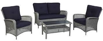 cosco outdoor products cosco outdoor living 4 piece lakewood