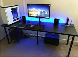 Gaming Desk Setup Best Free Puter Gaming Desk Setup Desks For At Home Chair Pictures