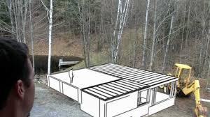 3 car monitor style garage plans my diy dream garage build