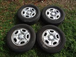 toyota tacoma rims and tires rims tires 4 toyota tacoma 05 10 215 70 15 stock oem rims w