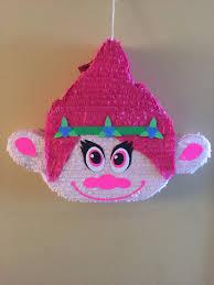 poppy trolls movie pinata by ipinata on etsy trolls theme 3rd