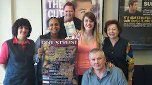 one stylist poetry poster and website by eric l farrell