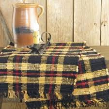 country kitchen table cambridge plaid table runner 36