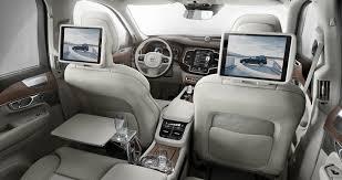 volvo station wagon interior volvo xc90 interior 4 electrek