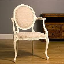 Shabby Chic Furniture Uk by Shabby Chic Chair Upholstered Carver Chair By Feather And Weave