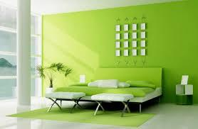 wandgestaltung in grün modernes schlafzimmer grün rheumri