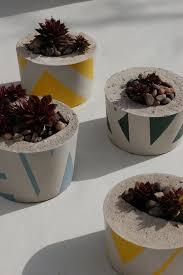 9 best concrete planters images on pinterest succulent planters