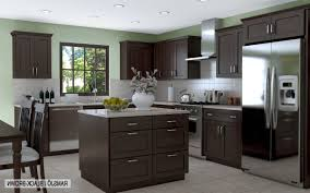 Grey Kitchen Cabinets With Granite Countertops by Kitchen Painting Cabinets White Dark Brown Cabinets Gray Kitchen