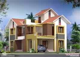 2000 sq feet villa floor plan and elevation home design ideas