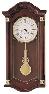 Howard Miller Chiming Mantel Clock Clockway Howard Miller Lambourn Quartz Chiming Wall Clock Chm1764