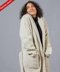 robe de chambre chaude pour femme robe de chambre bio fabriquée en