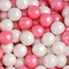 where can i buy gumballs bright pink white shimmer pearl mini gumballs 5 99 baby