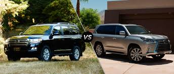 lexus lx pictures 2016 toyota land cruiser vs 2016 lexus lx 570