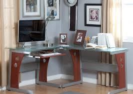 Small L Shaped Desks Glass Small L Shaped Desk Deboto Home Design Cheap Small L