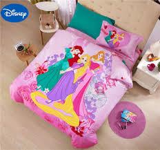 popular disney princess bed set buy cheap disney princess bed set princess comforters sets bed covers bedclothes cartoon disney bedding textile girls baby home decor single queen
