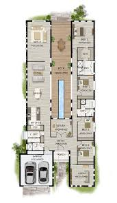 contemporary homes floor plans contemporary home designs modern narrow block house designs floor