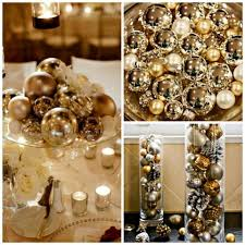 gold centerpieces wedding centerpieces you can use on a low budget for any season