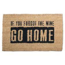 Come In And Go Away Doormat Welcome Mat Ebay