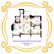frasier crane apartment floor plan gallery of from friends to frasier 13 famous tv shows rendered in